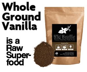wild foods raw vanilla