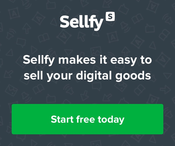 Sellfy makes it easy to sell your digital goods