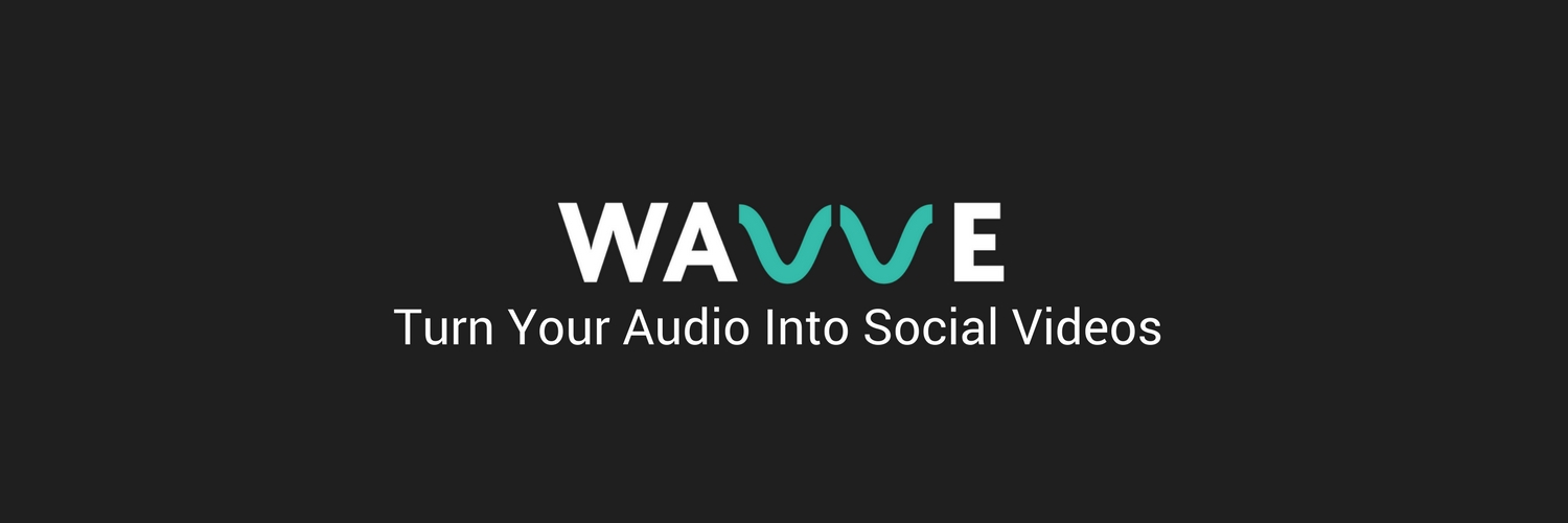 Wavve turn your audio into social videos