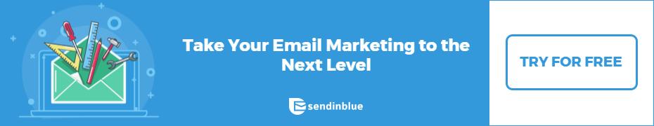 SendInBlue Signup Banner