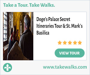 Revue des Promenades en Italie: visite des itinéraires secrets du palais des Doges, Venise 5a9d831c3a000