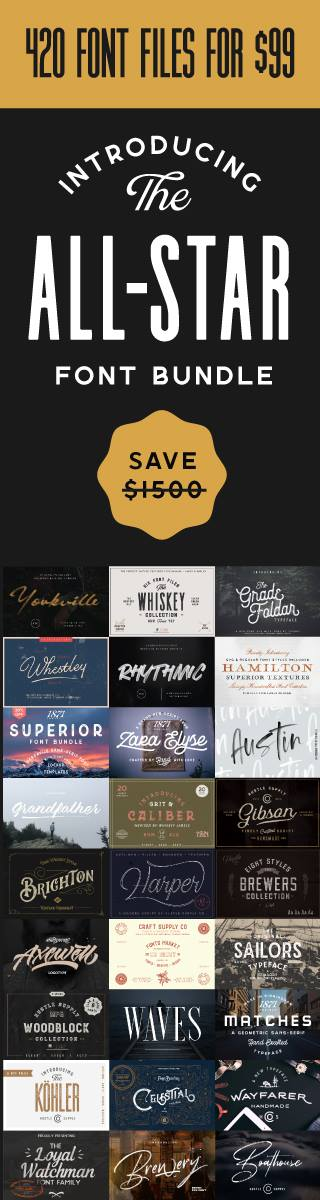 The Allstar Font Bundle