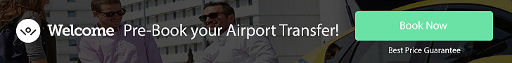 Pre-book your airport transfer!