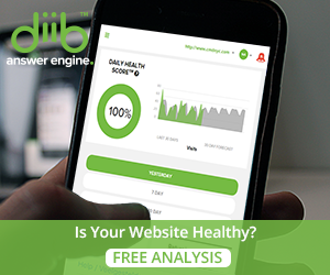 Diib health analysis for your site