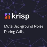 krisp unterdrückt Hintergrundgeräusche