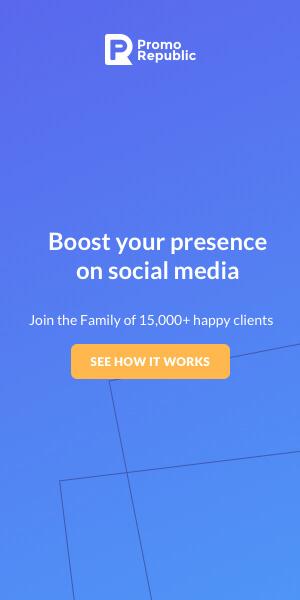 social media service banner