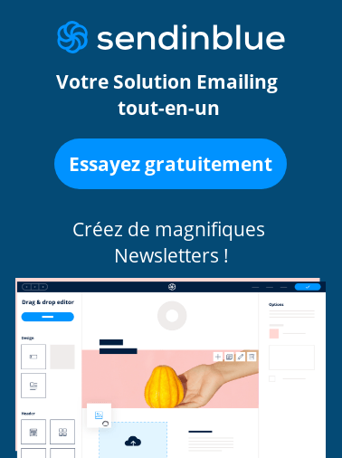 sendinblue solution emailing