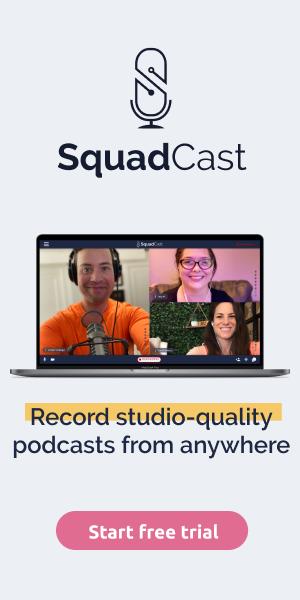 Squadcast podcast recording platform
