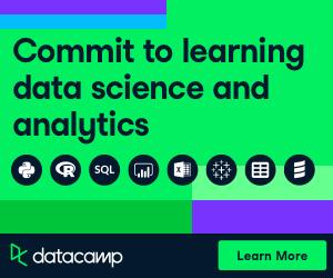 Build data skills online with Datacamp