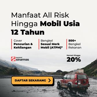 Gambar menunjukkan paket asuransi mobil di Cintamobil.com