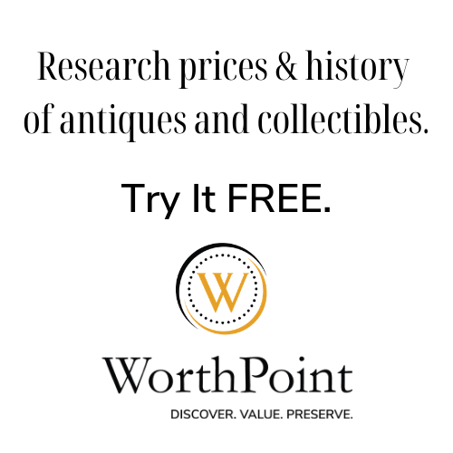 Research Prices of Antiques and Collectibles at WorthPoint
